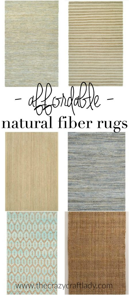 Affordable Natural Fiber Rugs + 3 Simple Tips for Using Area Rugs in Rental Decor