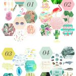 40 FREE printables for summer gallery walls - Summer is here! Swap out the pictures in your gallery walls with any of these 40 FREE printables. Use them in DIYs, crafts, or home decor this summer!