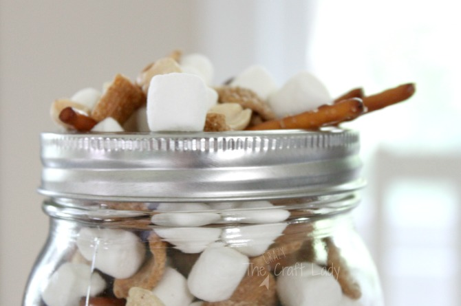 S'Mores Snack Mix - the perfect quick summer treat that comes together in a flash with only 5 ingredients. Take the flavor and fun of s'mores on the go with you - no campfire required!