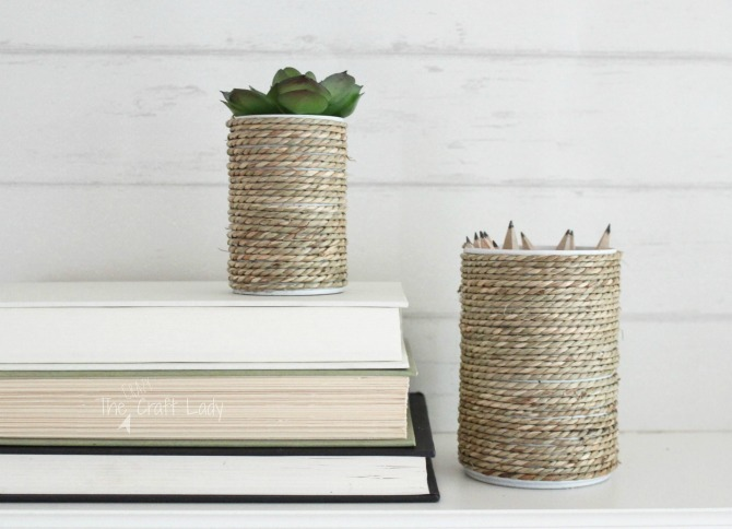 tin can craft with rope