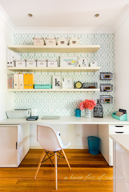 Study Nook in a Closet