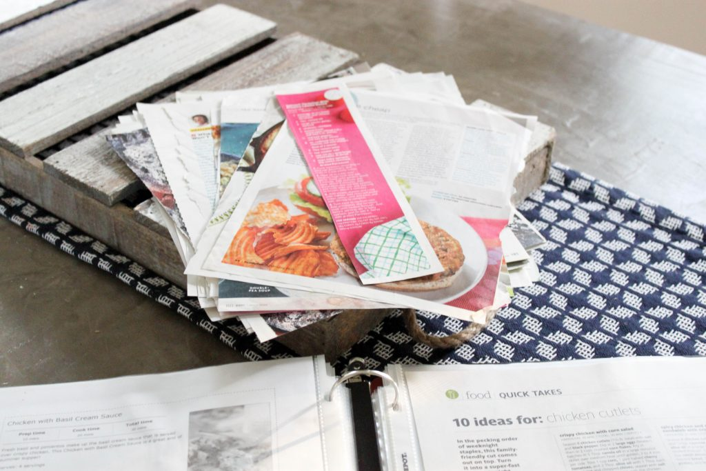 organize your recipe binder with these free printables
