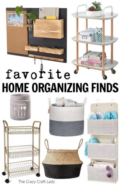Decorative Storage and Organizing on Amazon