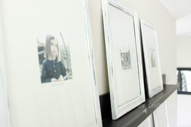Distressed and Painted Picture Frames - a DIY Tutorial