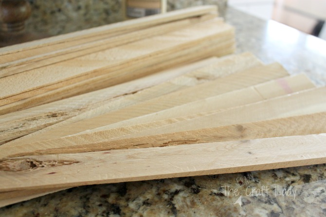 Making a simple rustic crate from wood shims