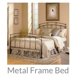 metal frame bed