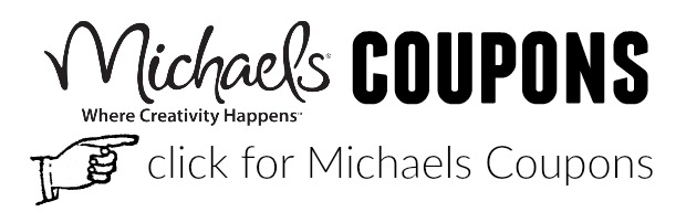 Michaels Coupons - How to Save Money on Craft Supplies - secrets and tips from The Crazy Craft Lady