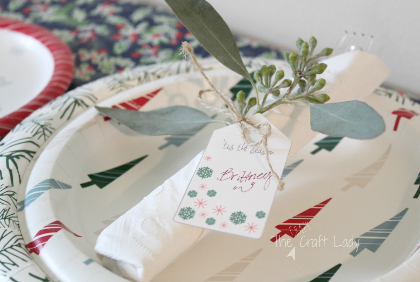 Easy Holiday Entertaining Place Settings