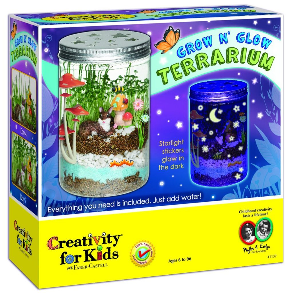 Grow and Glow Terrarium - Gifts for Crafty Kids