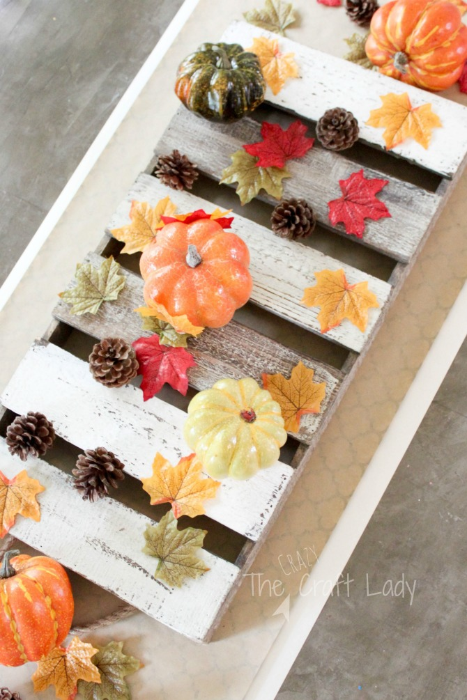 The Easiest Ever Fall Table Runner and Fall Tablescape Ideas