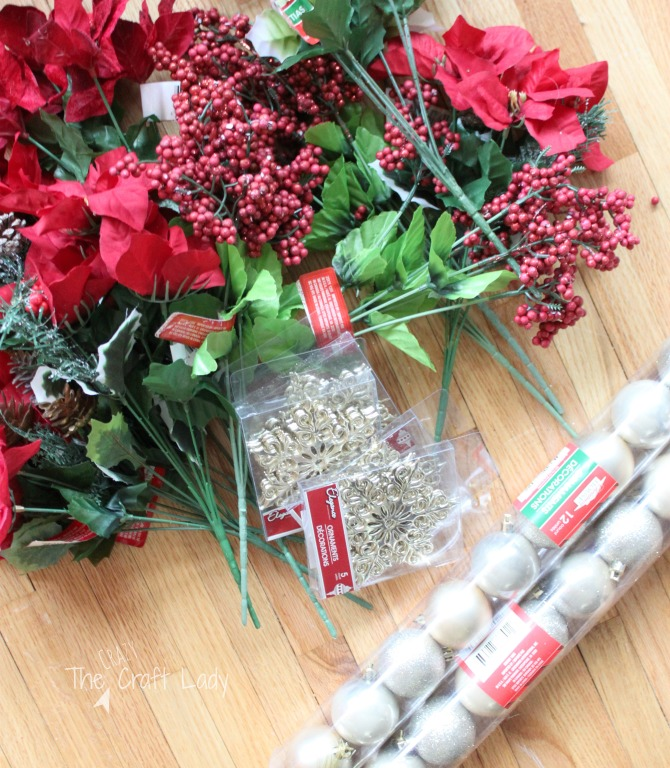 Dollar Store Christmas tree decorations - how to decorate your tree on a budget