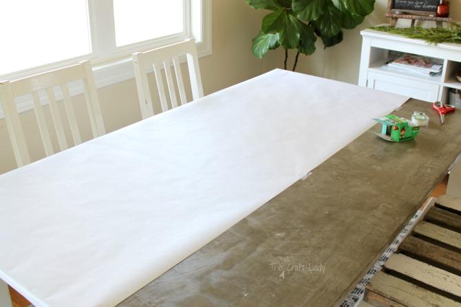 setup - how to make custom giftwrap