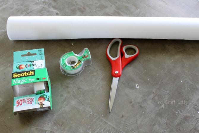 supplies to make custom gift wrap