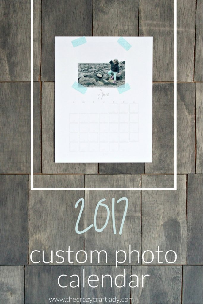 Free Printable 2017 Custom Instagram Photo Calendar