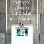 Free Printable 2017 Custom Photo Calendar