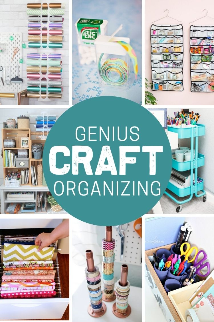 Genius Ways to Organize Craft Supplies