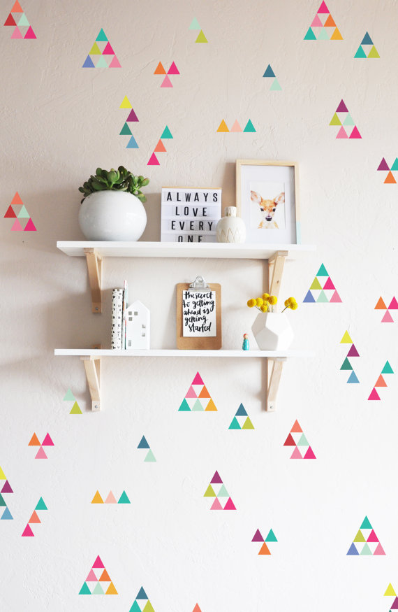 Inspiring Decal Feature Walls