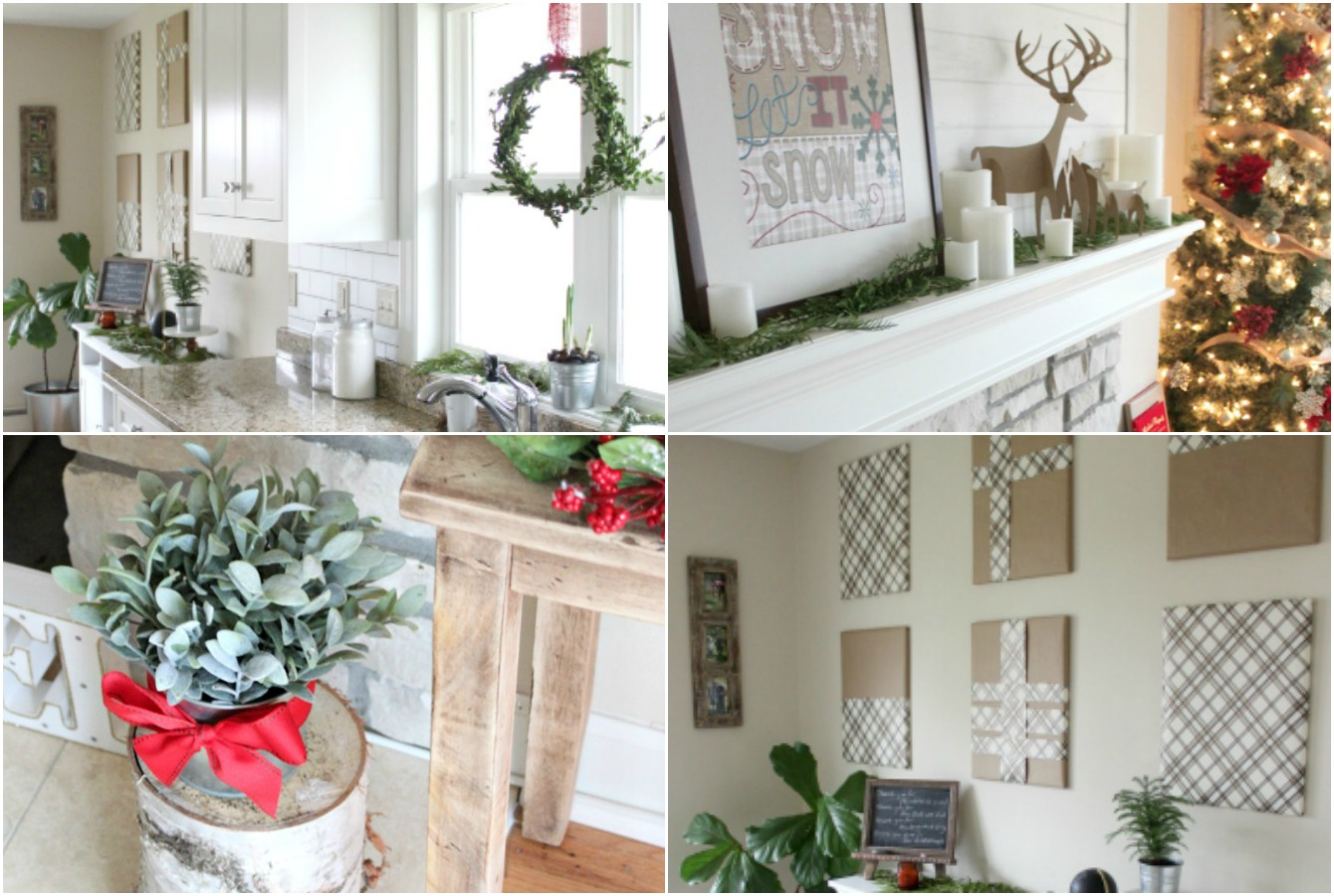 Tips for Inexpensive Christmas Decor - Farmhouse Christmas