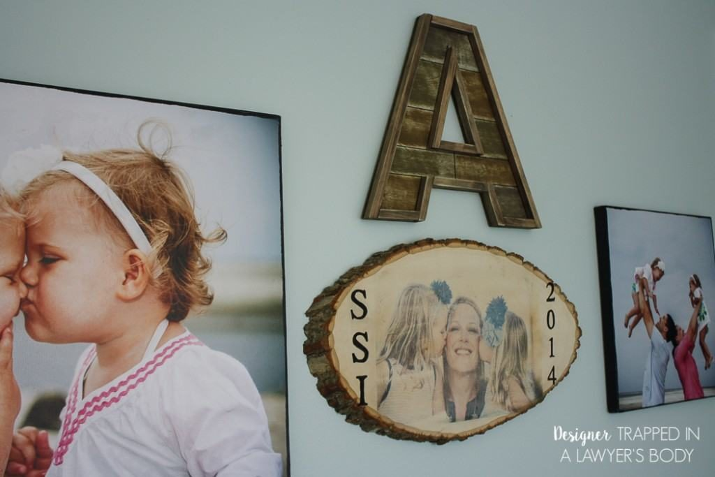 Wood Slice Photo Transfers - DIY photo gifts that are perfect for everyone on your list