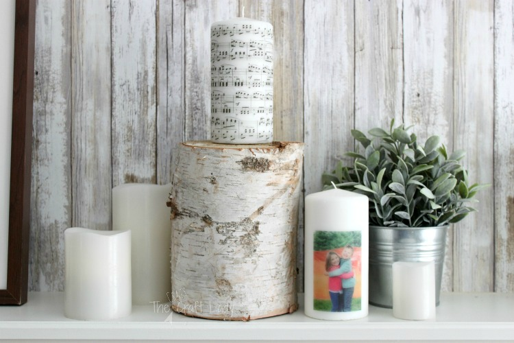 DIY Image Transfer Candles - How to make photo candles using any image