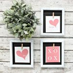 Dollar Store Valentine's Day Crafts - my favorite Valentine inspired projects