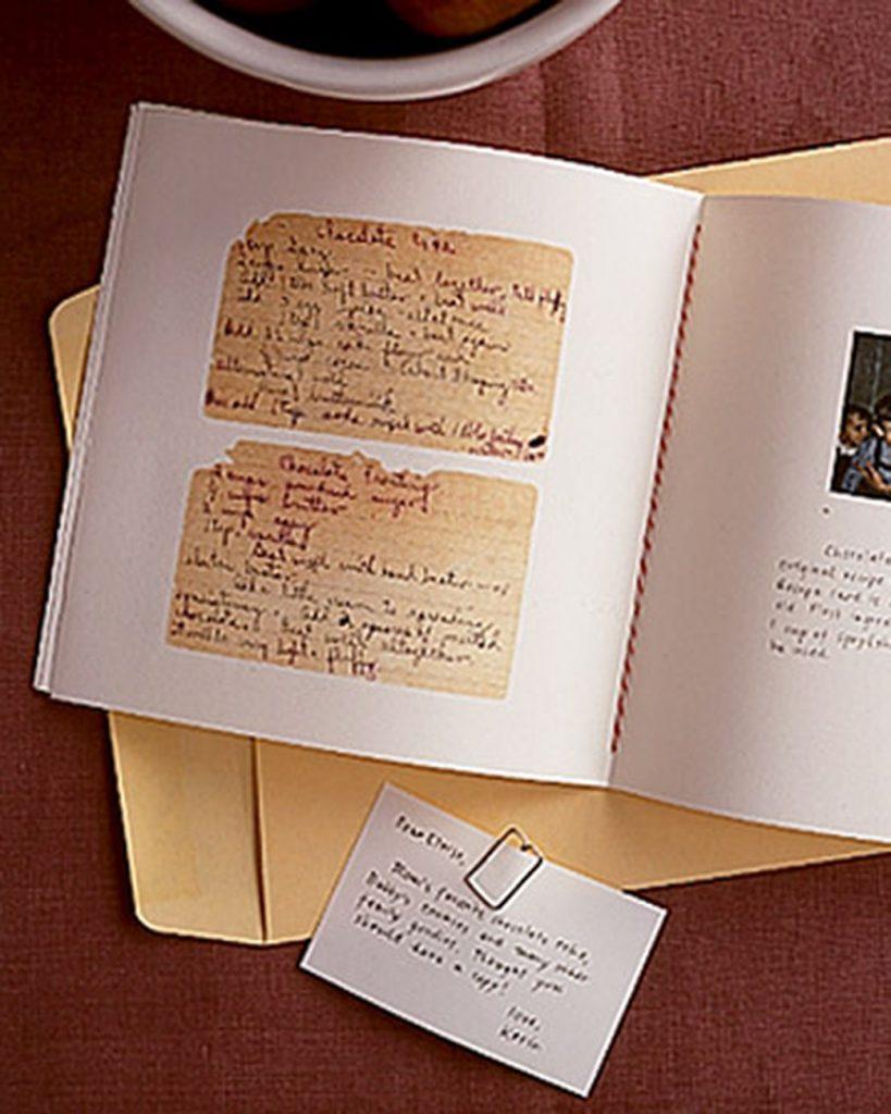 Family Recipes Scrapbook