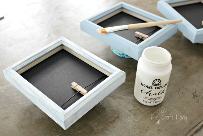 How to Update Cheap Picture Frames with Paint