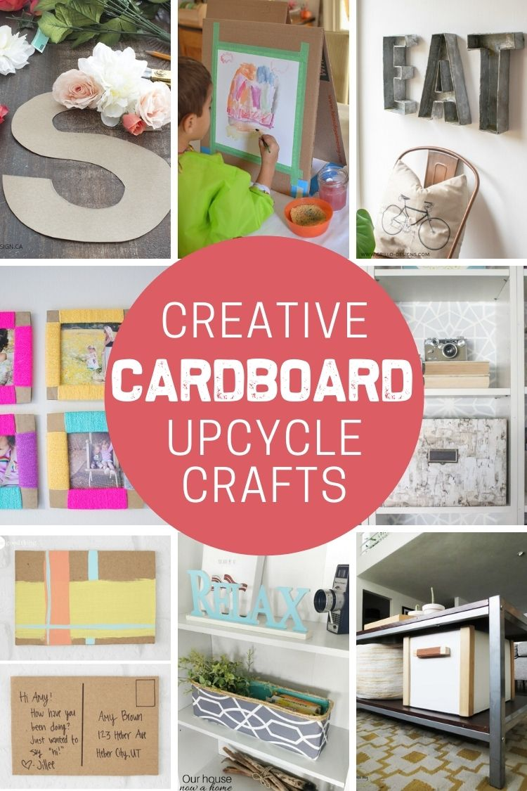 Creative Upcycled Cardboard Crafts