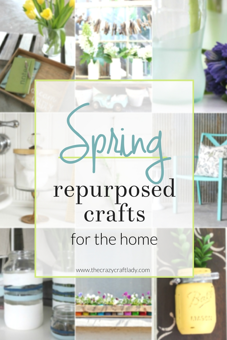 Get ready for spring with these genius repurposed crafts for the home! Get inspired with 14 amazing upcycle DIY decor ideas! You won't believe these transformations!