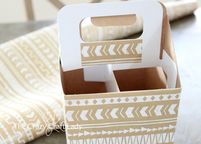See how to make your own DIY Organizer with this tutorial for a Cardboard Bottle Carrier Craft. Organize your desk with this simple upcycle project.