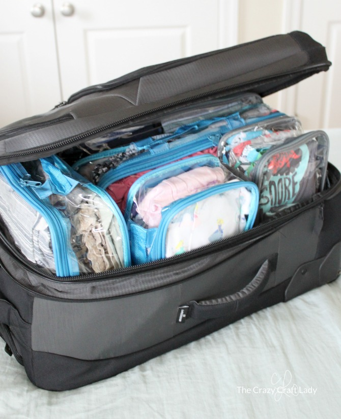 Come learn how to stay organized when traveling with kids. I'm sharing my favorite practical tips, tricks, and products for organized travel and keeping all of the kids things tidy without losing your mind!