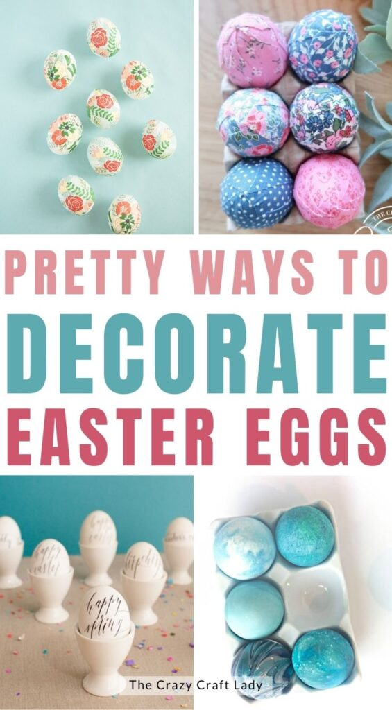 Pretty Ways to Decorate Easter Eggs