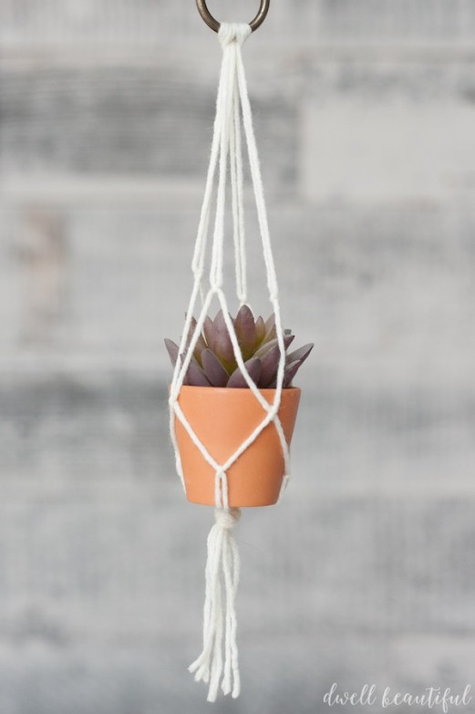 Macrame Plant Holder - I'm always on the hunt for new craft ideas. Check out some of these amazing craft ideas and craft projects that are on my crafting radar right now!