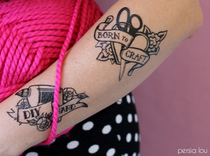 DIY Maker Tattoos - I'm always on the hunt for new craft ideas. Check out some of these amazing craft ideas and craft projects that are on my crafting radar right now!