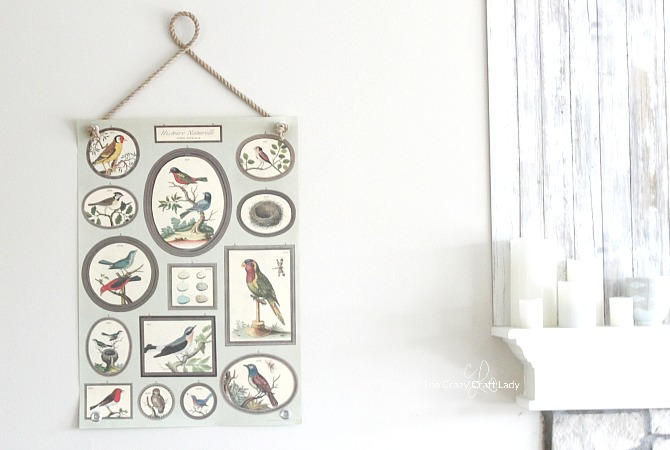 Make a simple poster hanger using rope and grommets. Follow this video tutorial to make easy and inexpensive DIY wall art in any style!