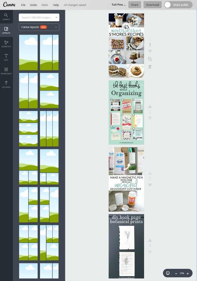 """Stop wasting time designing the """"perfect pin"""" for every blog post. Using Pinnable Image Templates will help you create viral pins for every blog post - quickly! Come learn how I use a FREE photo editing program to create social media images and save time in the process."""