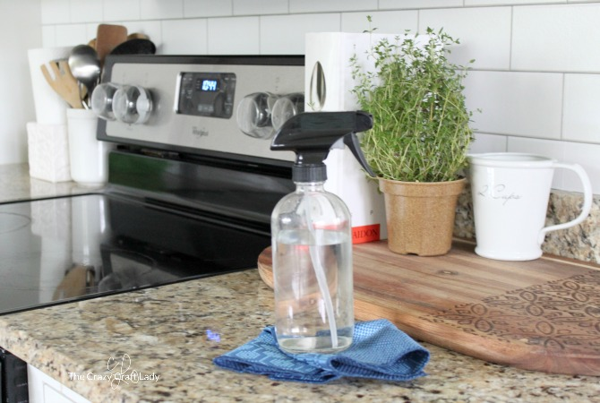 DIY Natural All Purpose Cleaner for Kitchens