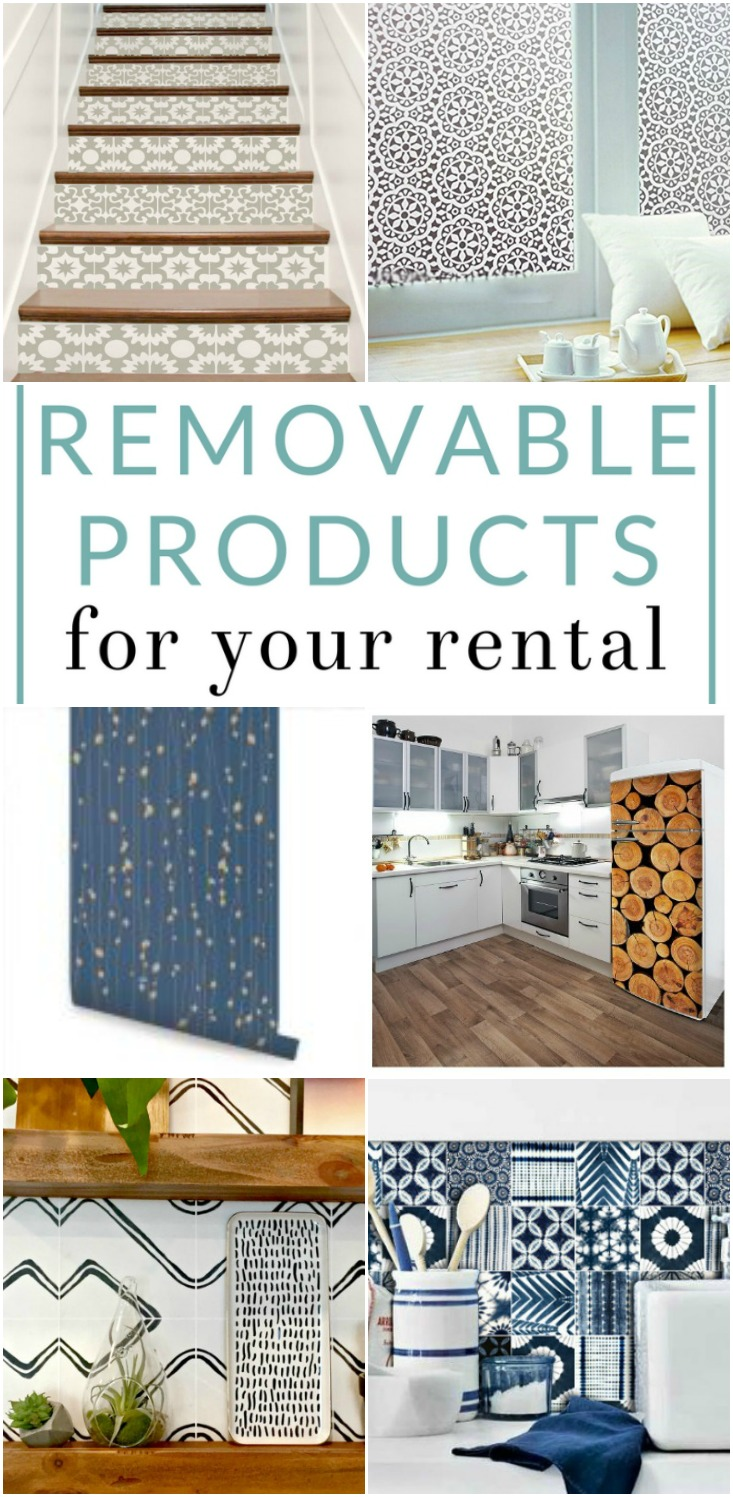 9 Removable Products For Your Rental Cute Apartment