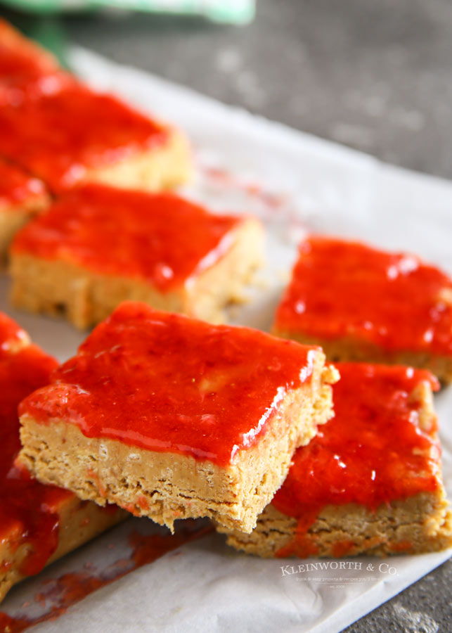 PB&J Recipes - so much more than just sandwiches! No-Bake Peanut Butter and Jelly Bars