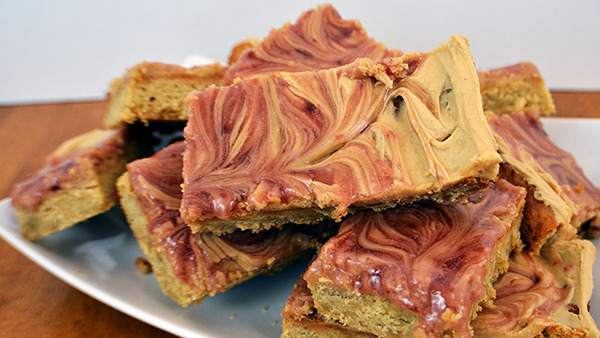 PB&J Recipes - so much more than just sandwiches! Peanut Butter and Jelly Cookie Bars