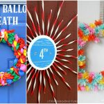 Beautiful Dollar Store Summer Wreaths – These gorgeous DIY wreaths were all made from supplies that you can find at your local dollar store! Genius and inexpensive dollar store summer decor ideas.