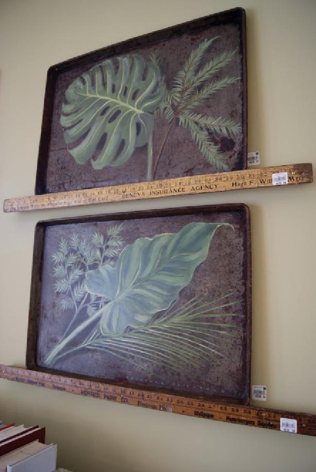 Botanical Painting Cookie Sheet Wall Art