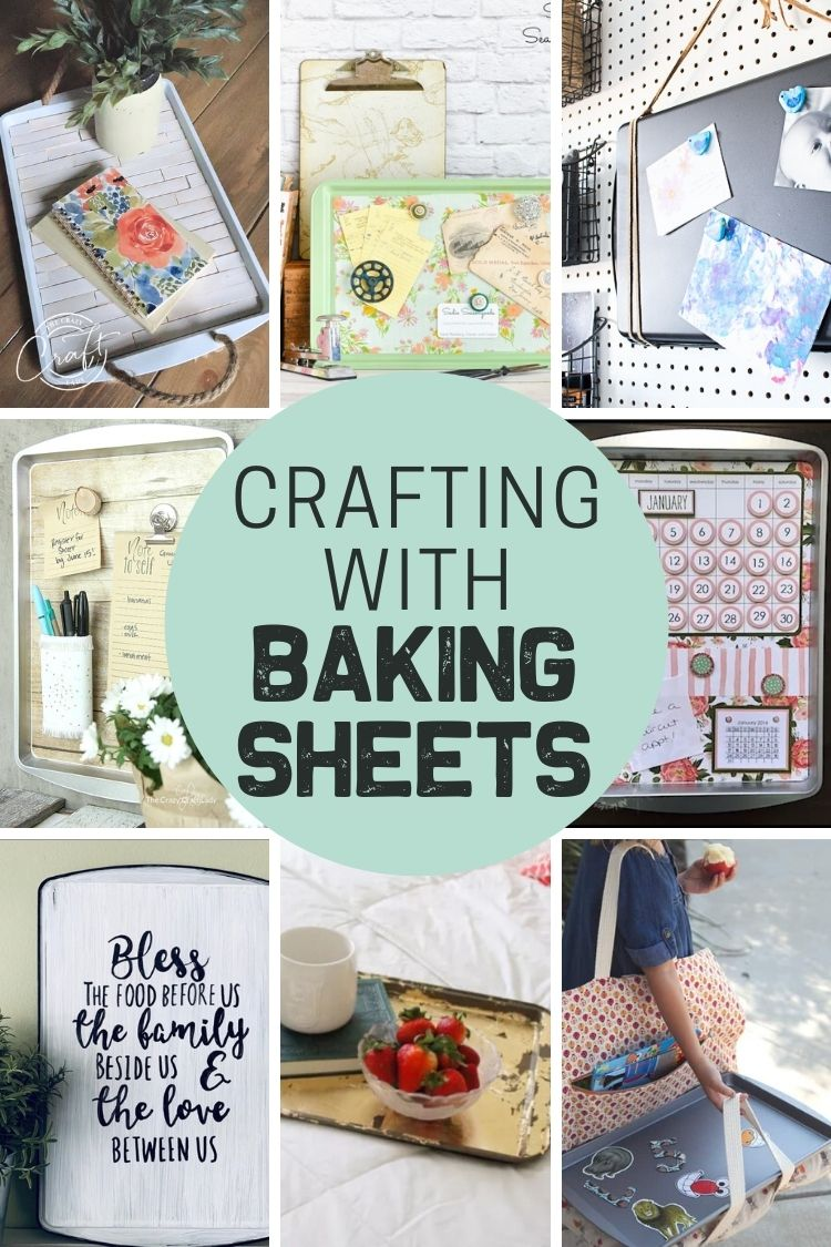 Crafting with baking sheets