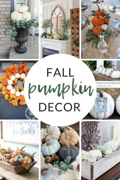 Decorating with Pumpkins - Fall Pumpkin Decor and Inspiration