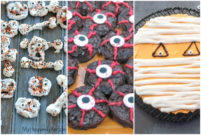 These sweet treats for Halloween are ADORABLE! Check out these 50 Halloween Baking ideas, perfect for a party or small crowd. These Halloween recipes are just as cute as they are spooky!