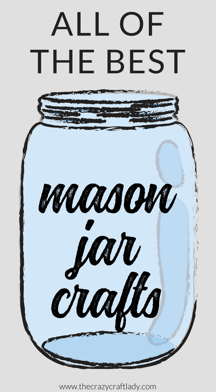 Here is the ultimate list of the best mason jar crafts and organizing solutions on the internet! Mason jar crafts for every holiday, special event, and occasion - plus Mason jar tips, tutorials, and printables.