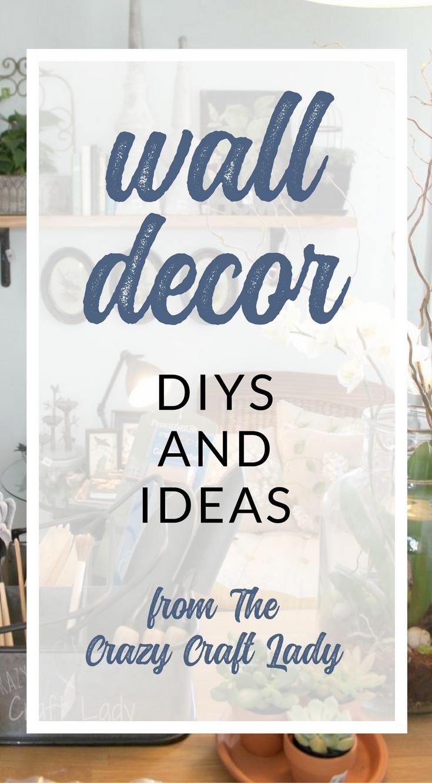 TONS of wall decor ideas and DIYs - Wall decor inspiration