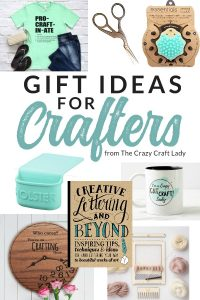 Gifts for Crafty People and Creatives. This is the ultimate gift guide and shopping list for the crafter in your life.