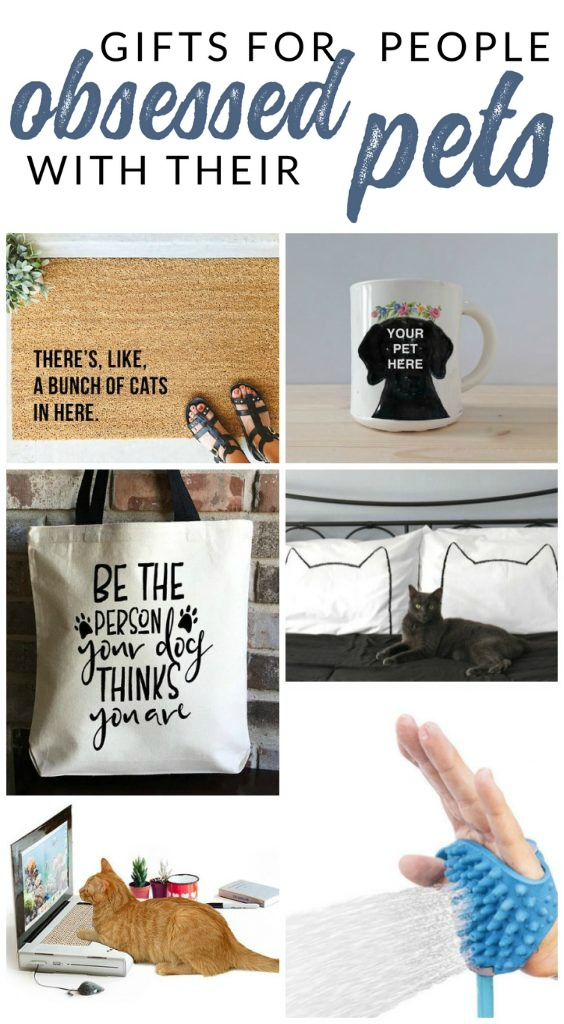 These gifts for animal lovers are sure to impress the dog or cat parent in your life. Find the perfect gift for anyone obsessed with their pet.