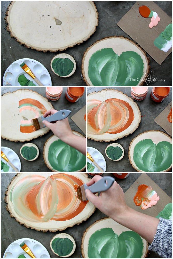 How to Paint Farmhouse-Style Fairytale Pumpkins